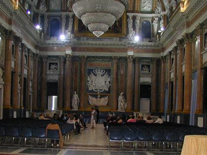 Convegno Annuale delle Associazioni nordamericane di insegnanti di lingua italiana AATI e AAIS - Salone del Maggior Consiglio