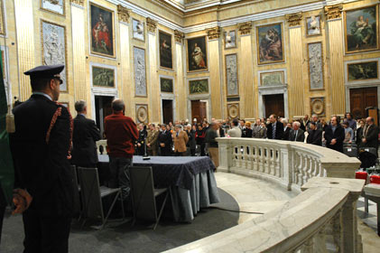Cerimonia Istituzionale 'Giorno della Memoria' - Salone del Minor Consiglio