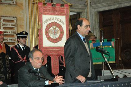 Cerimonia Istituzionale 'Giorno della Memoria' - G. Pericu (Sindaco di Genova)