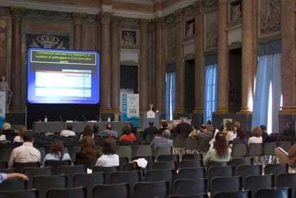 Conferenza 34º Congresso Nazionale della Società Italiana di Microbiologia - Salone del Maggior Consiglio