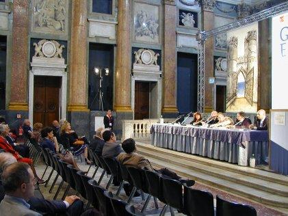 Convegno 'Genova Europa Mondo' - Salone del Maggior Consiglio