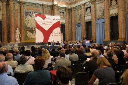 Conferenza Turismo Made in Italy - Salone del Maggior Consiglio