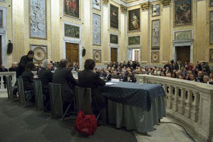 Convegno 'Amministrare il successo' - Sala del Minor Consiglio