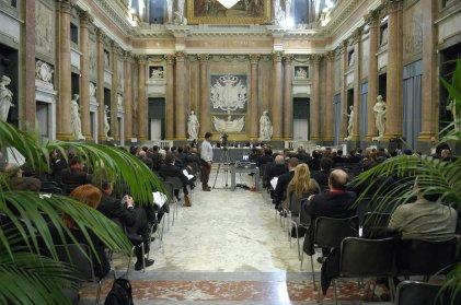 Convegno 'Gli ottanta anni di diritto e pratica tributaria' - Sala del Minor Consiglio